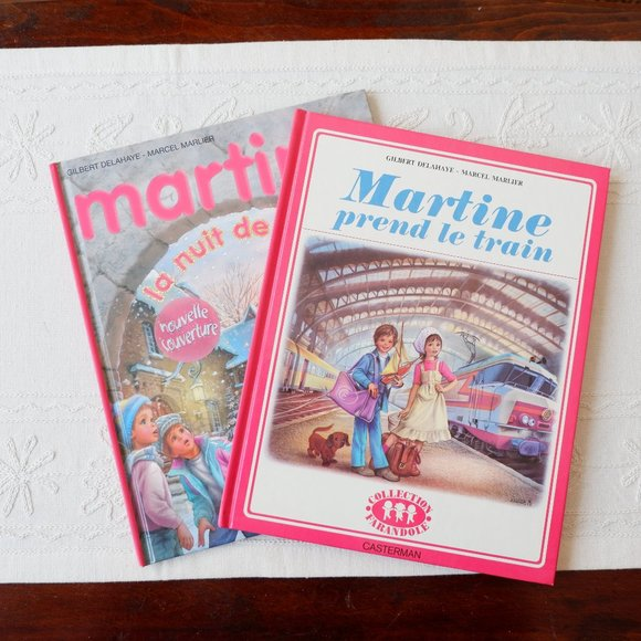 Deux albums de Martine